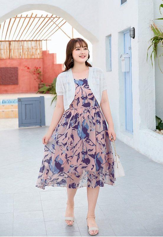 Váy cho người béo bụng