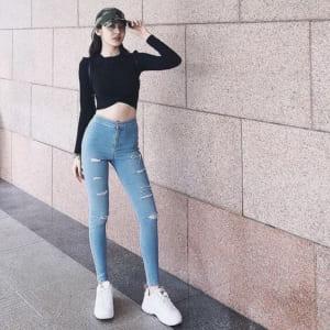 Cách phối đồ với quần jean