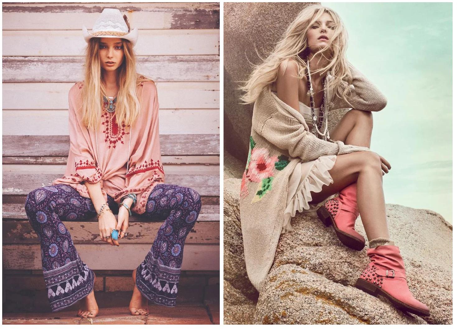 Xu hướng thời trang phong cách Bohemian độc đáo