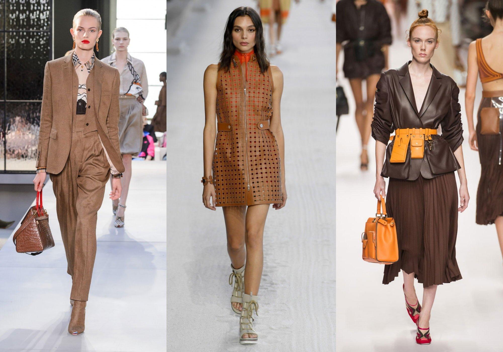 MÀU NÂU DẪN ĐẦU XU HƯỚNG THỜI TRANG 2020 - Leika.Vn Fashion
